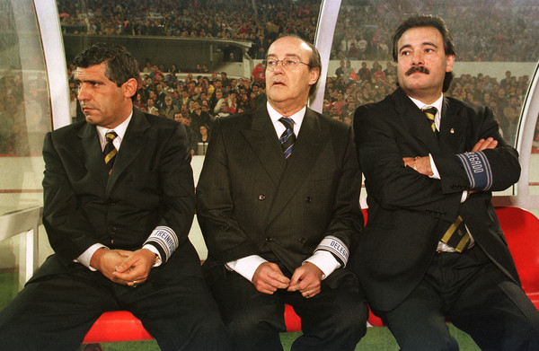 Benfica-FC Porto in 1999, with Pinto da Costa and Fernando Santos