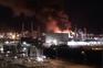Os vídeos da explosão numa petroquímica em Espanha que já fez um morto