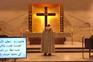 Padre foge de estilhaços durante missa em direto de Beirute