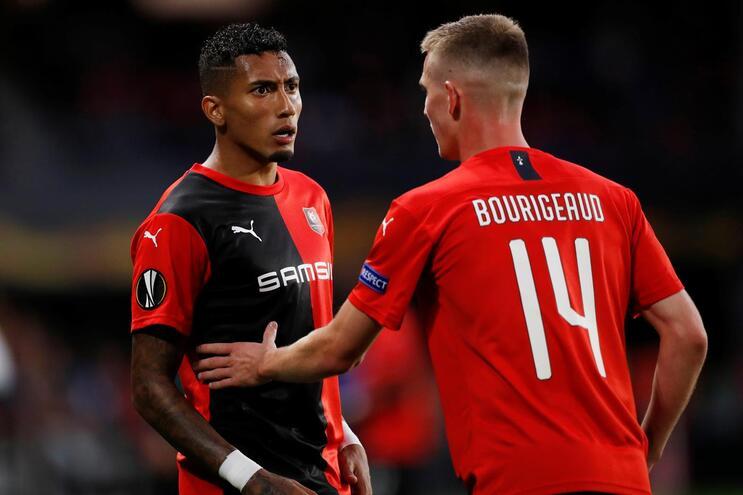 Raphinha mudou-se para o Rennes por 21 milhões de euros
