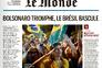 """Vitória de Bolsonaro no francês """"Le Monde"""""""