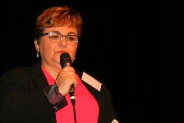 Suzette Fernandes, presidente da associação Hirond'Ailes