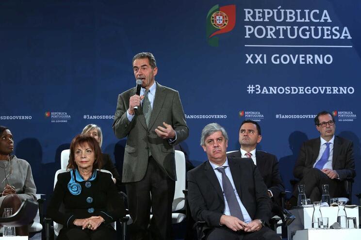 O ministro da Ciência, Tecnologia e Ensino Superior, Manuel Heitor