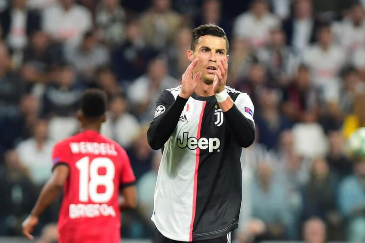 Cristiano Ronaldo marca na vitória da Juventus frente ao Leverkusen