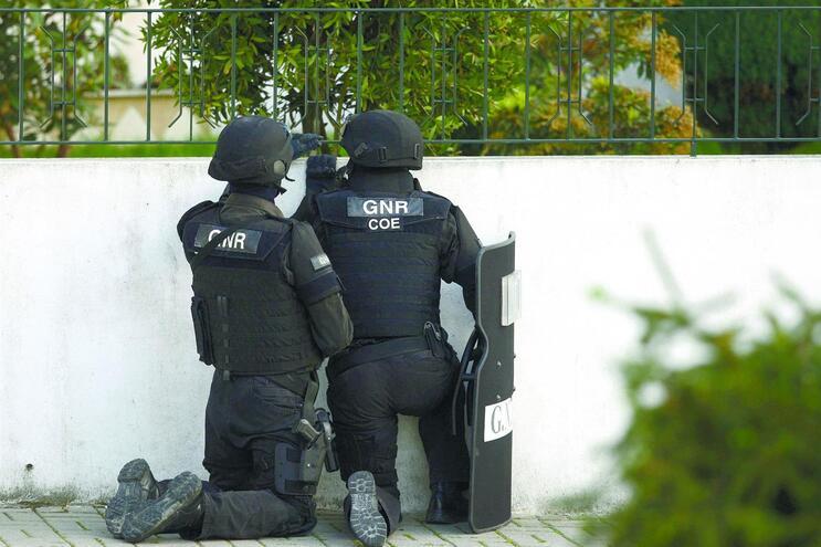 """Caso obrigou à intervenção das """"operações especiais"""" da GNR"""