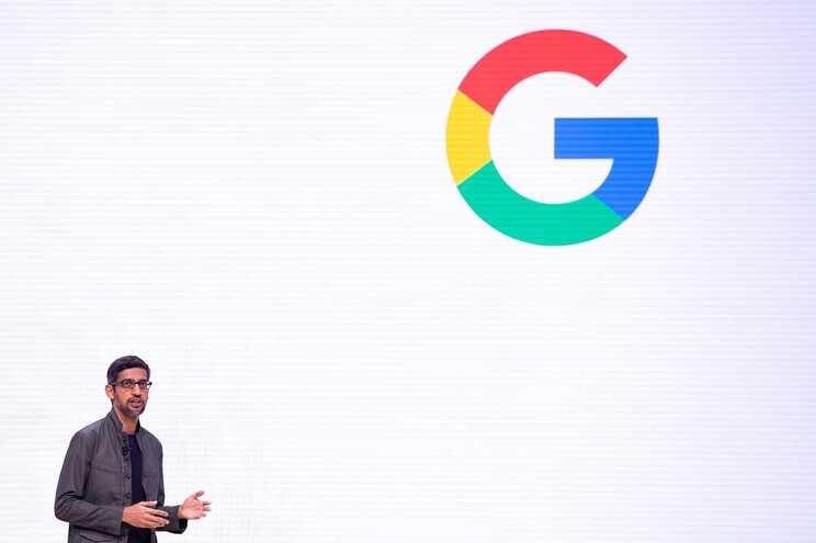 Sundar Pichai, diretor executivo da Google