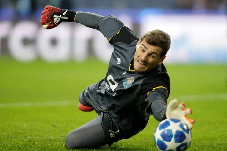 A lenda Iker Casillas começou há 20 anos