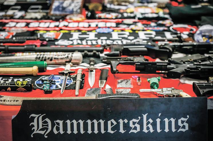 Grupo Portugal Hammerskins foi recentemente acusado pelo Ministério Público por crimes de ódio e tentativa