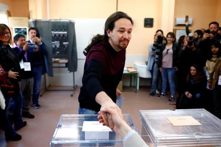 Resultado não é o melhor para o Podemos, diz Pablo Iglesias