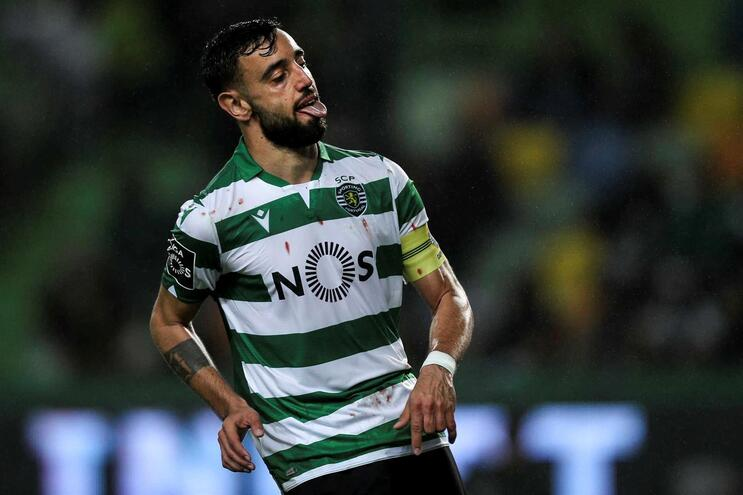 Bruno Fernandes é o melhor marcador do Sporting