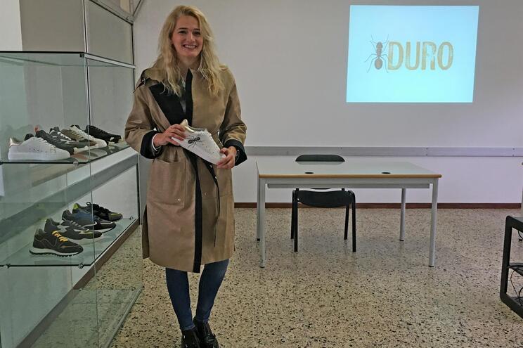 Rita Duro criou marca de calçado sustentável