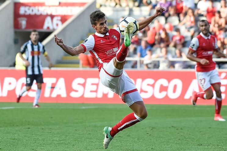 Rui Fonte é reforço do Sporting de Braga