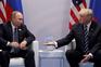 Encontro entre Vladimir Putin e Donald Trump