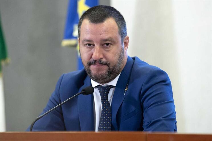 Ministro do Interior italiano, Matteo Salvini