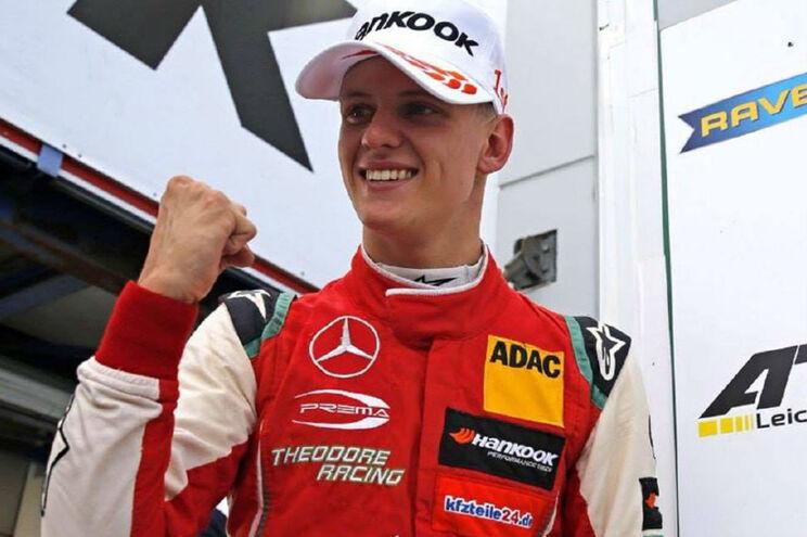 Filho de Michael Schumacher sagra-se campeão europeu de Fórmula 3