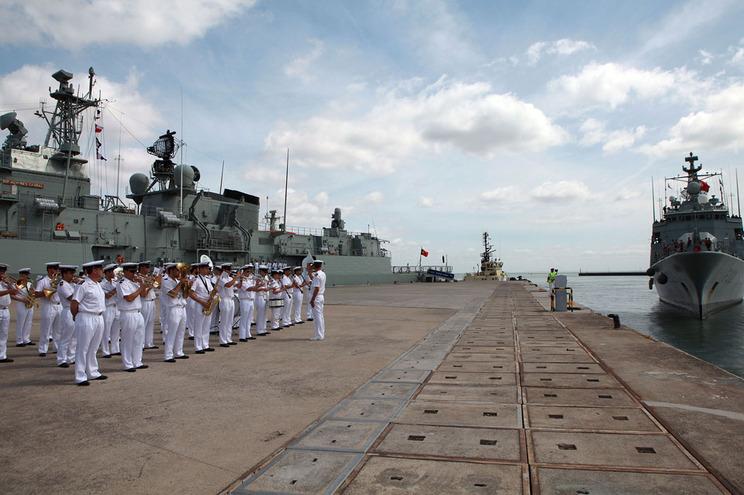 Base Naval de Lisboa, em Almada  (Angelo Lucas/Global Imagens)