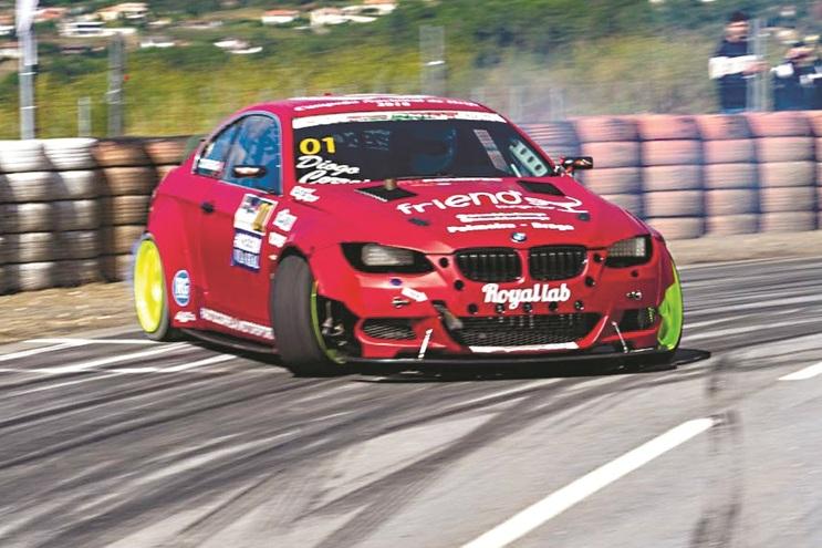 O BMW e92 com que Diogo Correia vai participar no Masters Grand Prix