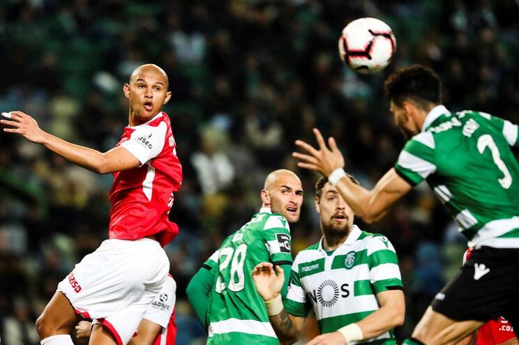 Raul Silva, central do Braga
