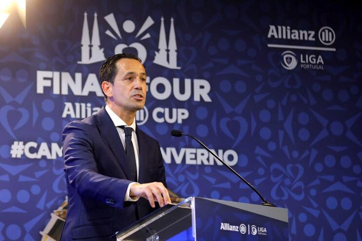 Pedro Proença é o presidente da Liga