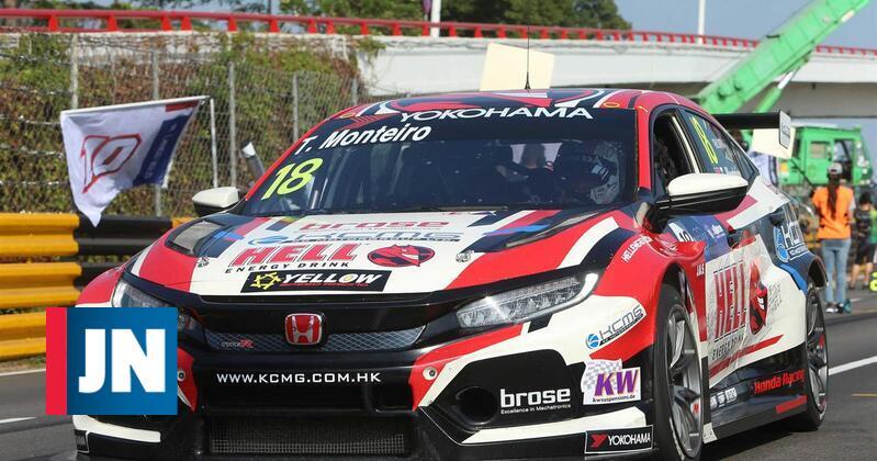 Tiago Monteiro frustrado com a sua participação no GP Macau - Jornal de Notícias