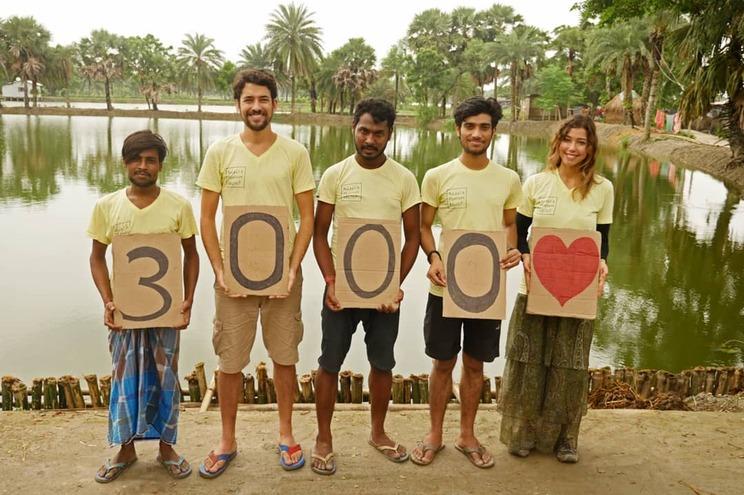 O português que todos os dias salva vidas na Índia