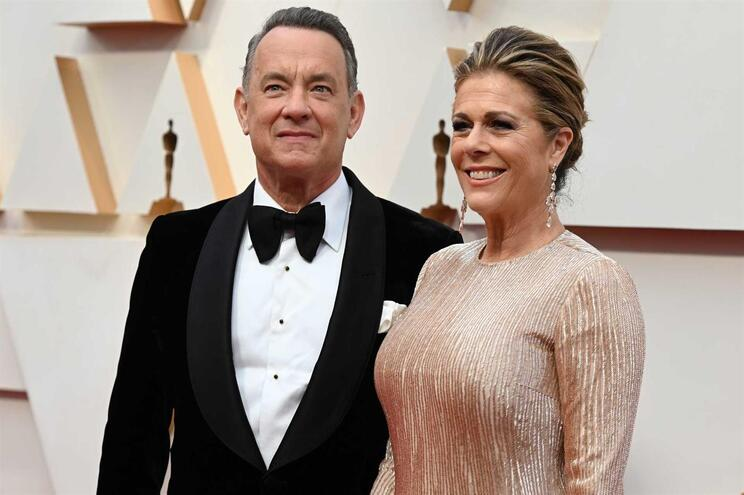 O ator e comediante norte-americano Tom Hanks e sua mulher, a atriz e cantora Rita Wilson, foram contaminados