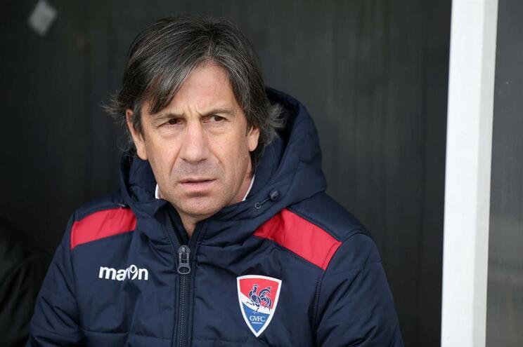 Paulo Alves abandonou comando técnico do Gil Vicente ao fim de sete jogos