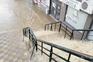 Cheias e tempestade de granizo num dia de 30 graus em Lamego