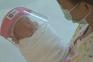 Viseiras para bebés recém-nascidos na Tailândia