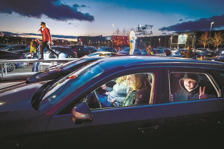 Modelo de drive-in na Noruega