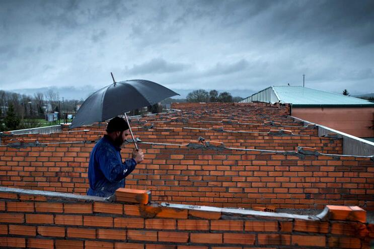 Deslizamento de terras nas Astúrias faz um morto