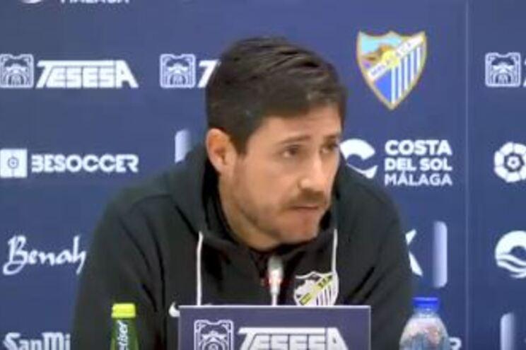 Vícotr Sánchez, treinador do Málaga