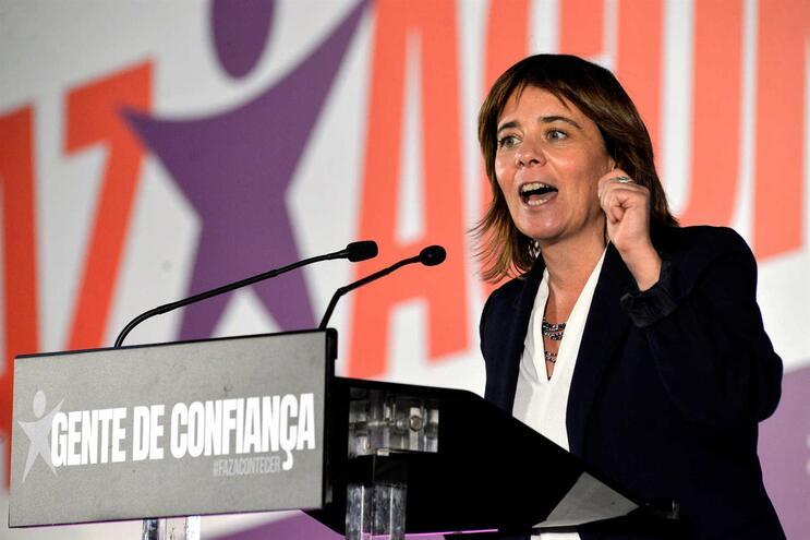"""Catarina Martins: """"Novas soluções só serão construídas com o BE"""""""