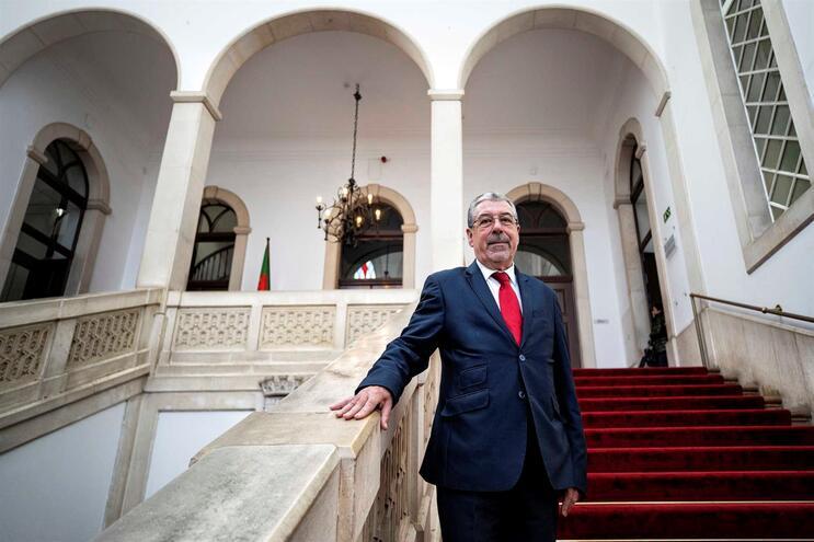 Manuel Machado,. presidente da Câmara Municipal de Coimbra