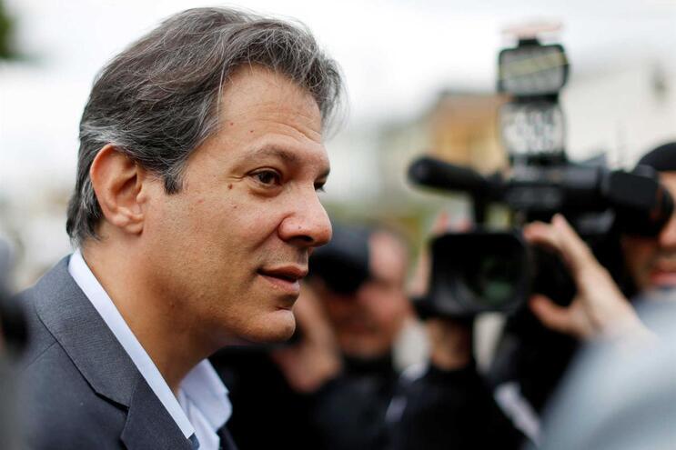 Haddad substitui Lula nas presidenciais brasileiras