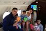 Cristiano Ronaldo em fériasde família num resortde luxo na Grécia