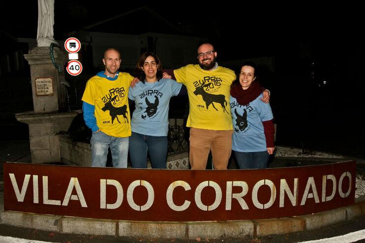 Vítor Sá, Sandra Barbosa, Ricardo Silva e Filipa Cardoso, voluntários da associação Coronado