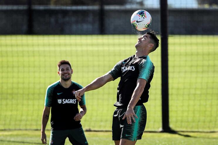 Ronaldo marca mais do dobro dos golos do Luxemburgo