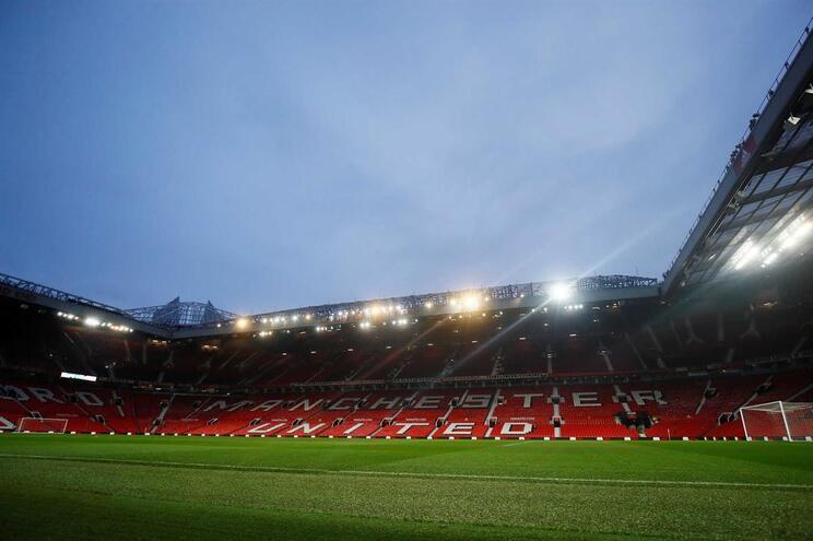 Estádio de Old Trafford, do Manchester United, Inglaterra