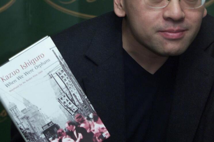 Kazuo Ishiguro foi o último a receber o Nobel da Literatura