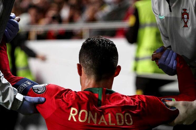 Juventus esclarece lesão de Cristiano Ronaldo