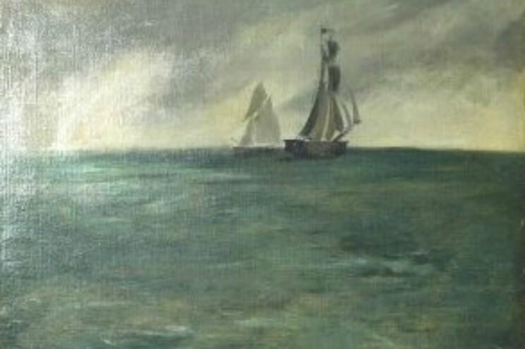 """""""Marine, Temps d´Ororage"""" de Édouard Manet"""