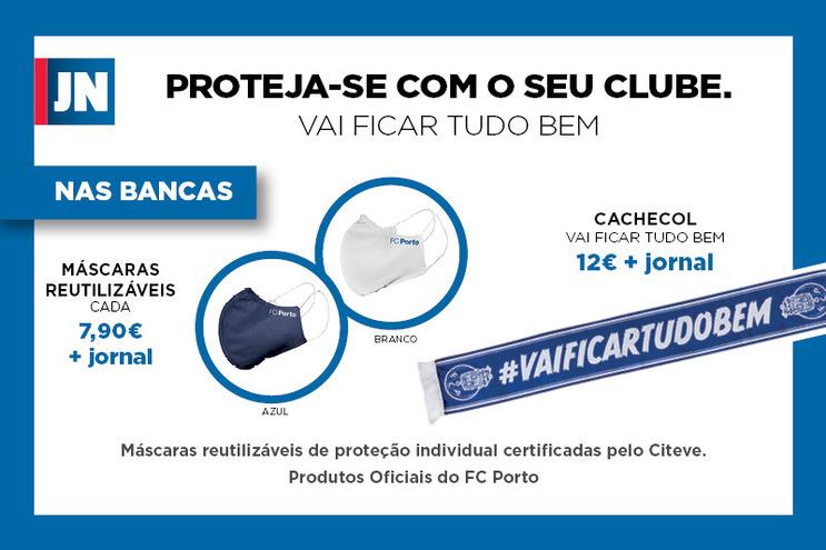 Proteja-se com o seu clube. Produtos Oficiais do FC Porto.