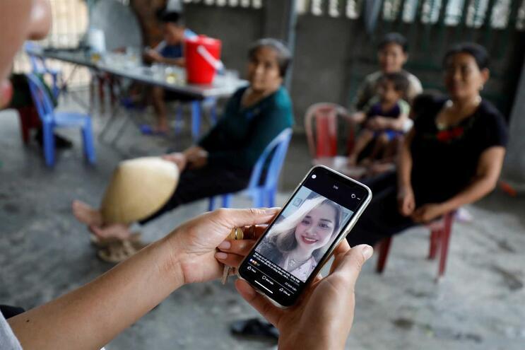 Anna Bui Thi Nhung com 19 anos é uma das vítimas mortais