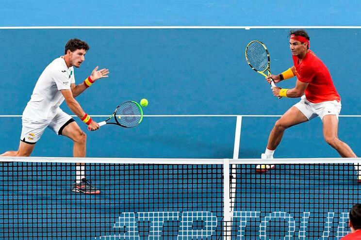 Espanha qualifica-se para as meias-finais da ATP Cup