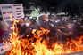 Confrontos entre manifestantes e polícia em protesto da restauração no Porto