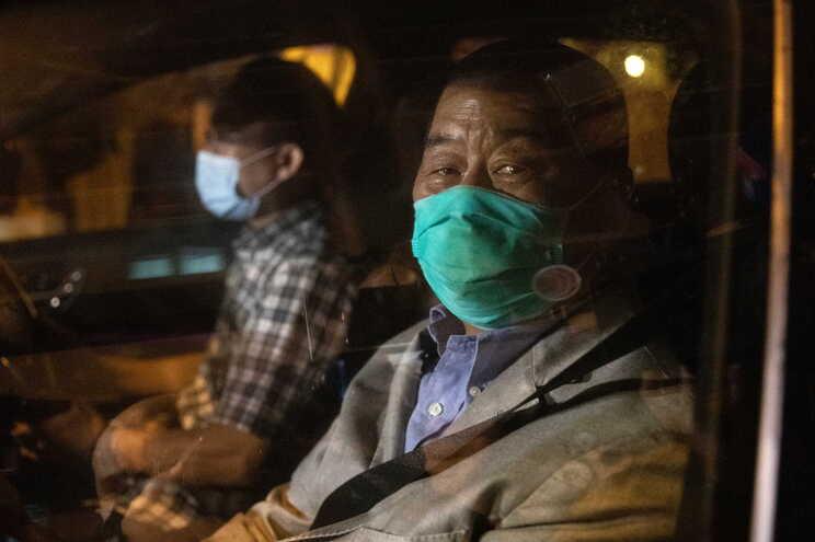 Jimmy Lai tem 72 anos e é uma das principais figuras do movimento pró-democracia em Hong Kong