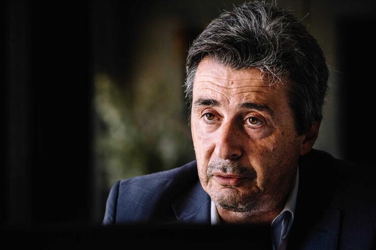 O presidente da Confederação Empresarial do Alto Minho (CEVAL), Luís Ceia