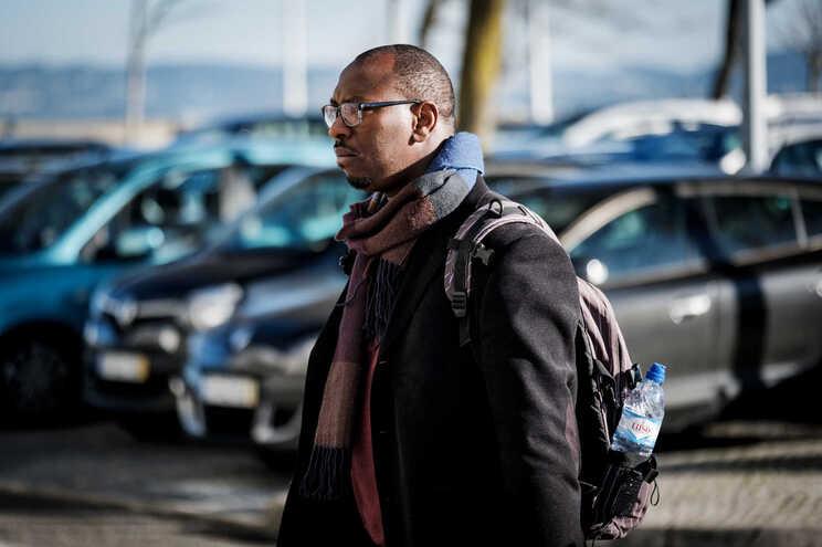 Mamadou Ba, dirigente da SOS Racismo