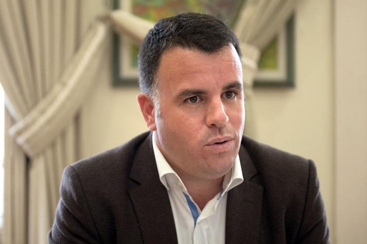 O presidente da Comissão Distrital da Proteção Civil do Porto, Marco Martins